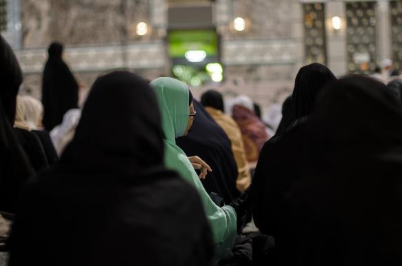 Fajr prayer, Mecca