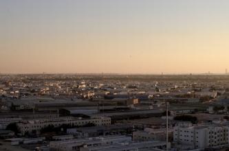 Rooftop view, Ajman