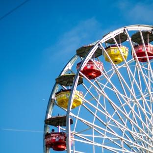 Pacific Park Ferris wheel, Santa Monica