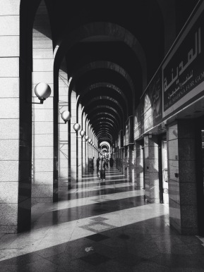 Shopping centre, Madīnah. Shot on iPhone