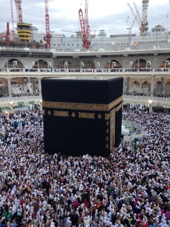 Kaaba, Mecca. Shot on iPhone