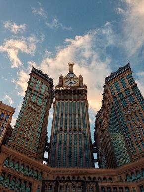 Abraj Al-Bait Towers, Mecca. Shot on iPhone